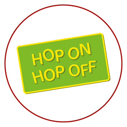 HOP ON – HOP OFF – CITY TOUR