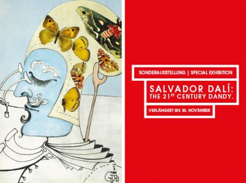 "Sonderausstellung ""SALVADOR DALÍ: THE 21st CENTURY DANDY"" endet am 30. November"